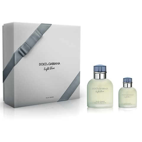 3410f07a33c4c Light Blue Pour Homme – Dolce and Gabbana Perfume gift set 125 ML EDT SPRAY  + perfume 40 ml EDT SPRAY
