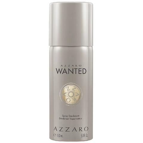 wantedAZZAROdeodorantespray