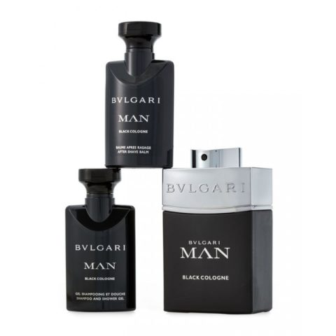 0fd9f8f46d2 Man Black Cologne – Bulgari perfume gift set 100 ml EDT SPRAY + shower gel  75 ml + after shave balm 75 ml
