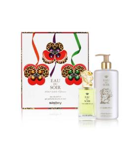 Sisley Eau du Soir-Sisley gift set edp spray e bain e shower gel