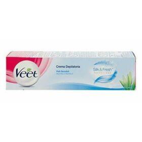 VEET Seda&Crema depilatoria Fresh Body and Legs - Para pieles sensibles