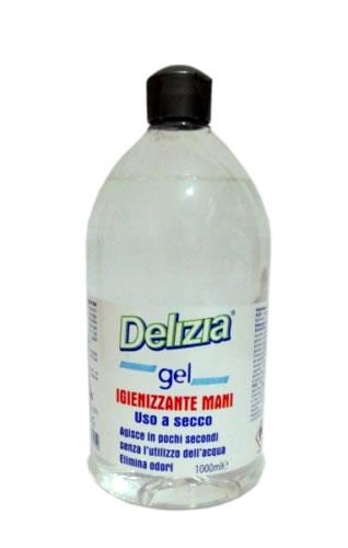 delizia gel igienizzante mani