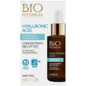 Concentrado facial activo antiarrugas e hidratante